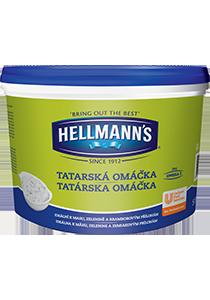 Hellmann´s Tatárska omáčka 5l - Hellmann's: tradičná chuť a kvalita