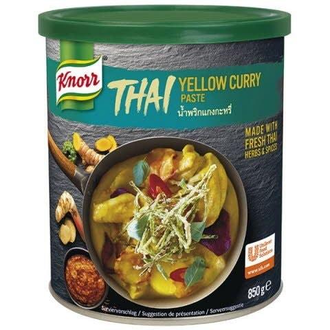 Knorr Karí pasta žltá -