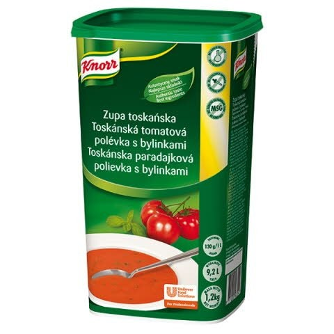 Knorr Toskánska paradajková polievka s bylinkami 1,2kg -